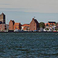 Weisse Flotte Hafenrundfahrt Stralsund.